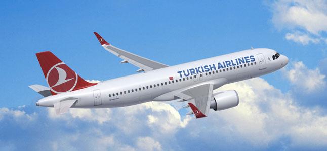 Turkish Cargo'ya ait Boeing 777F tipi kargo uçağı, Taipei havalimanında böyle karşılandı