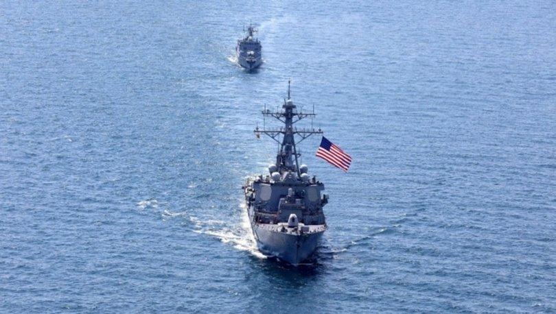 Çin'den, savaş gemisini Tayvan Boğazı'ndan geçiren ABD'ye sert tepki
