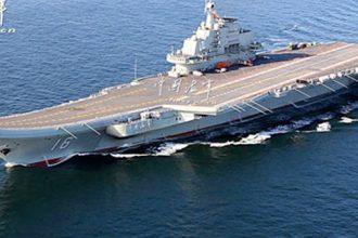 Çin'in uçak gemisi sınırı aştı Tayvan teyakkuza geçti