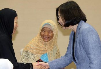 Tayvan liderinden Müslümanlara övgü
